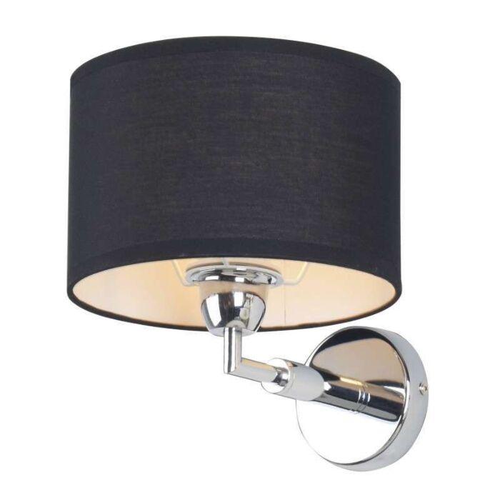 Nástěnná-lampa-Lugar-černá