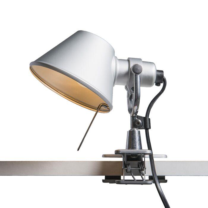 Stolní-lampa-Artemide-nastavitelná---Artemide-Tolomeo-micro-pinza