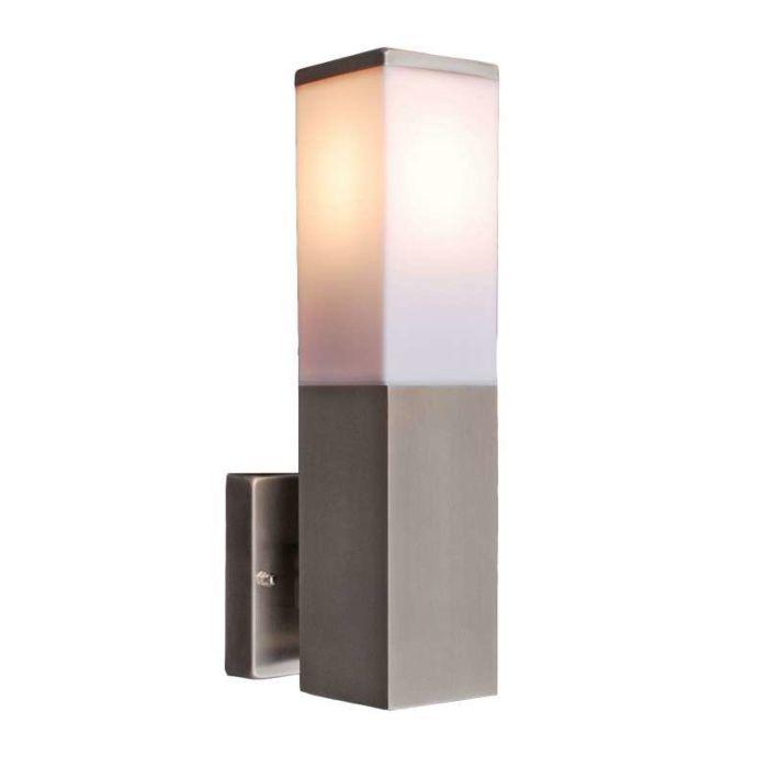 Venkovní-lampa-Malios-nástěnná-ocel