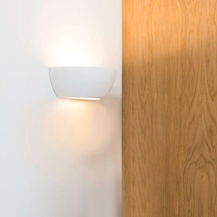 Nástěnná-lampa-bílá---Gipsy-Chatou