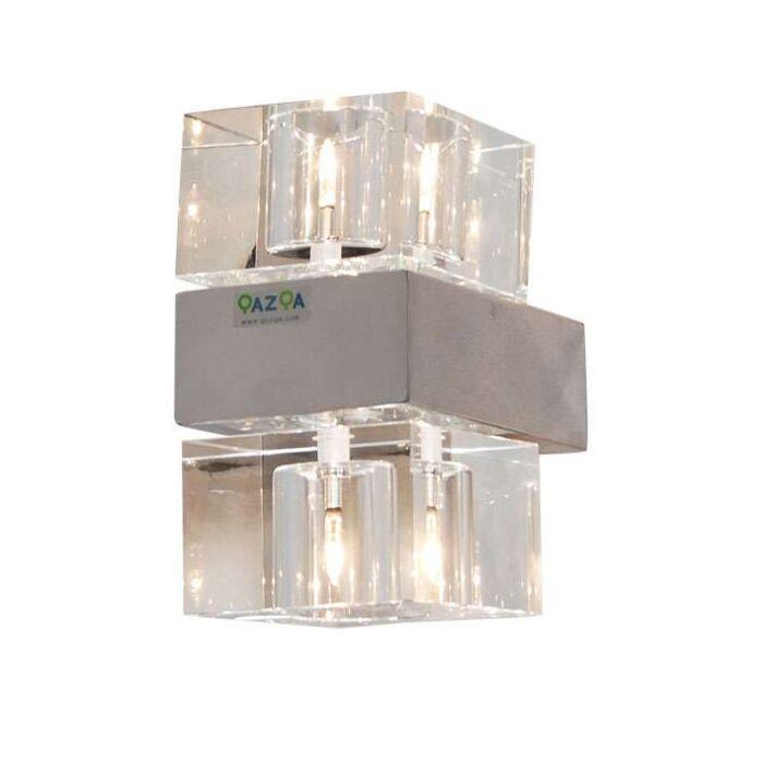 Nástěnná-lampa-Dice-2-chrom