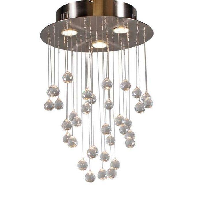 Stropní-lampa-Kapky-3-ocel