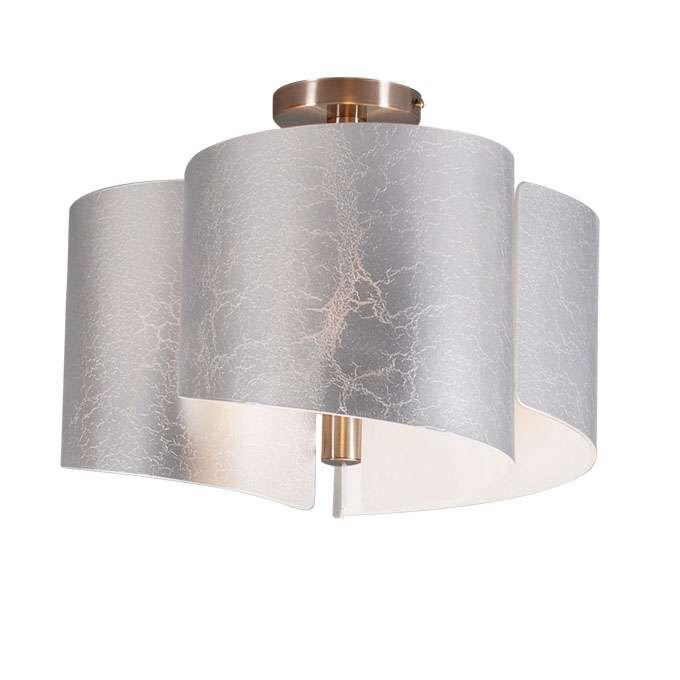 Stropní-svítidlo-Salerno-stříbrné