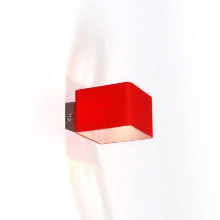 Nástěnná-lampa-Nova-Red