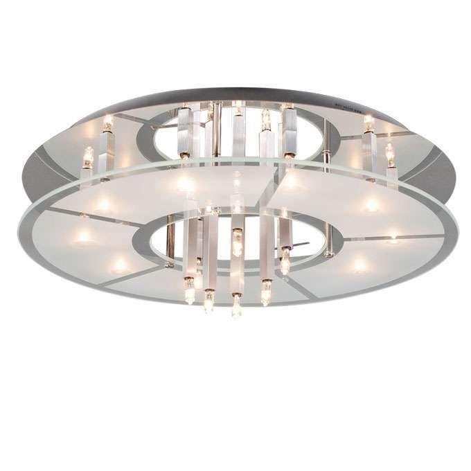 Stropní-svítidlo-Circle-16-chrom