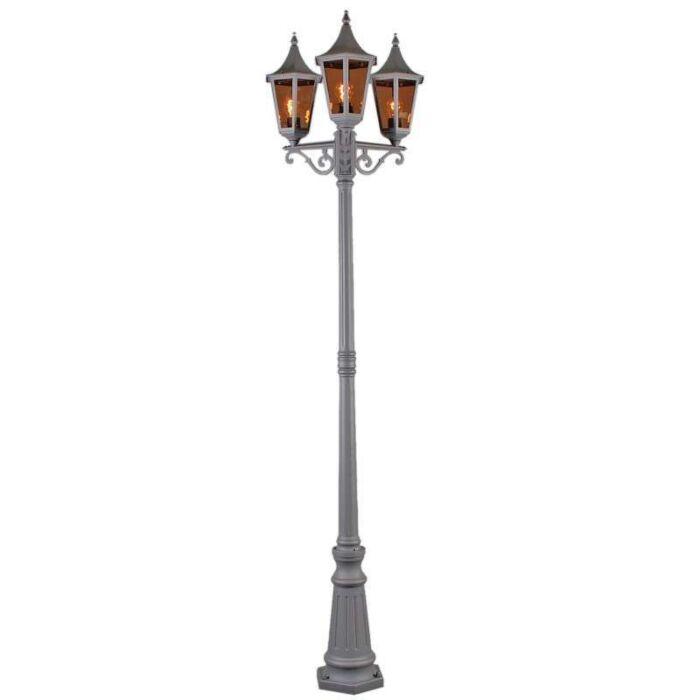 Venkovní-lampa-President-P3-H228-grafitová