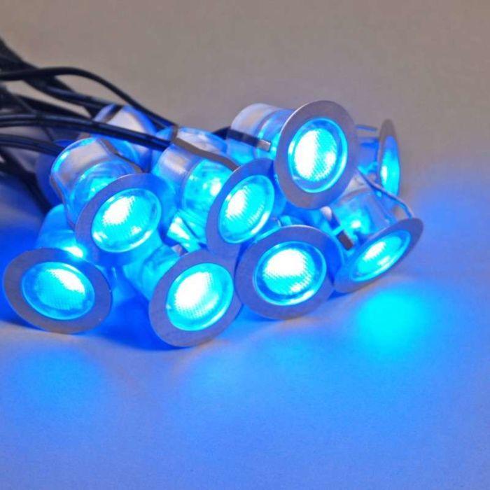 Komo-LED-instalační-sada-10-kusů-IP65-modrá