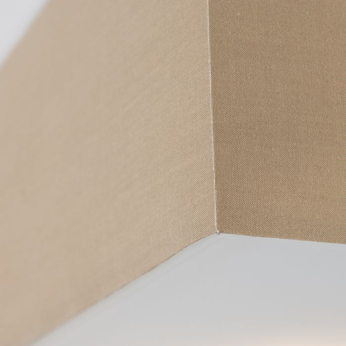 Moderní-hranaté-stropní-svítidlo-béžové-35cm---buben