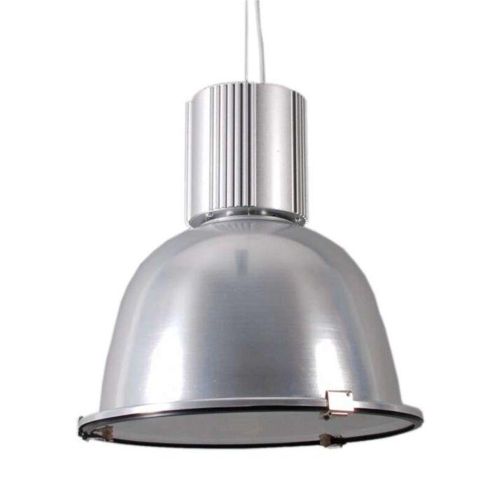 Průmyslová-závěsná-lampa-stříbrná---Silvie