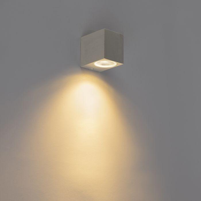 Moderní-nástěnné-svítidlo-hliníkové-IP44---Baleno-I.