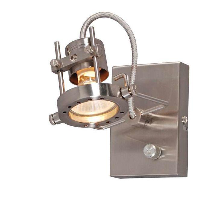 Nástěnné-svítidlo-Suplux-1-se-stmívací-ocelí
