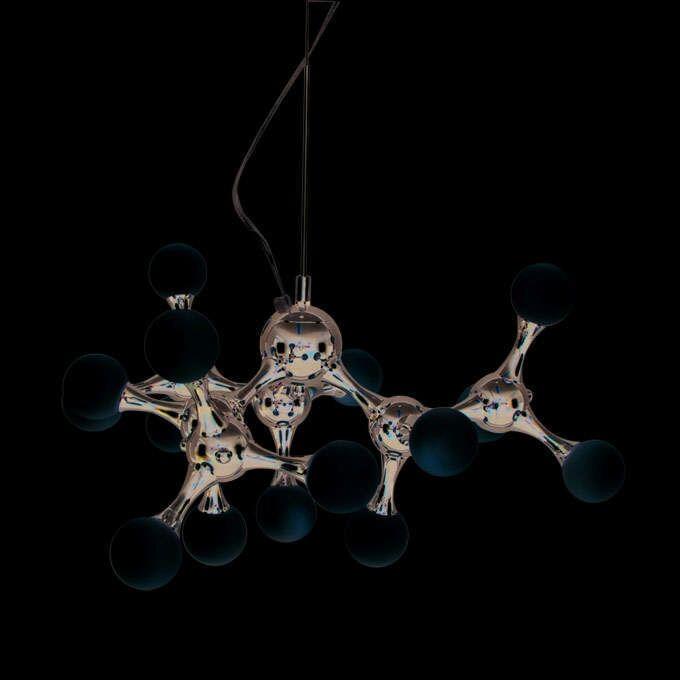 Závěsná-lampa-Globo-mini-15-chrom