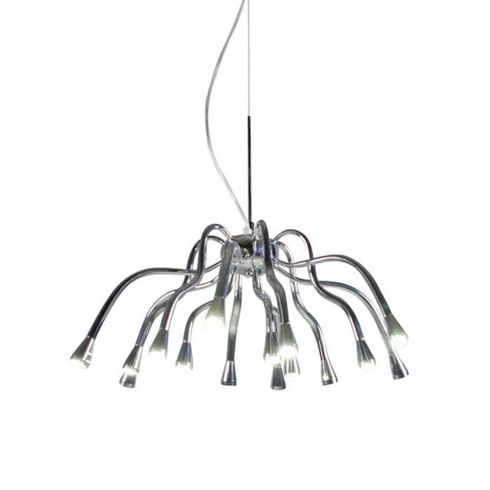 Závěsná-lampa-Angeline-LED-chrom