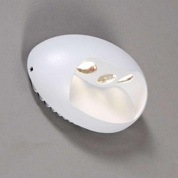 Nástěnná-lampa-Pole-LED-bílá