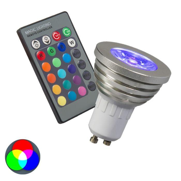 Žárovka-RGB-GU10-s-dálkovým-ovládáním