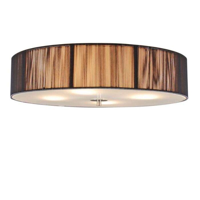 Klasické-stropní-svítidlo-antracit-50-cm---lano