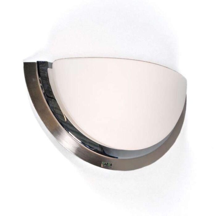Nástěnná-lampa-Barney-ocel-chrom