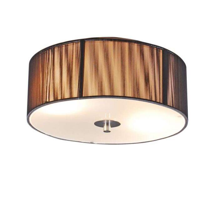 Klasické-stropní-svítidlo-antracit-30-cm---lano