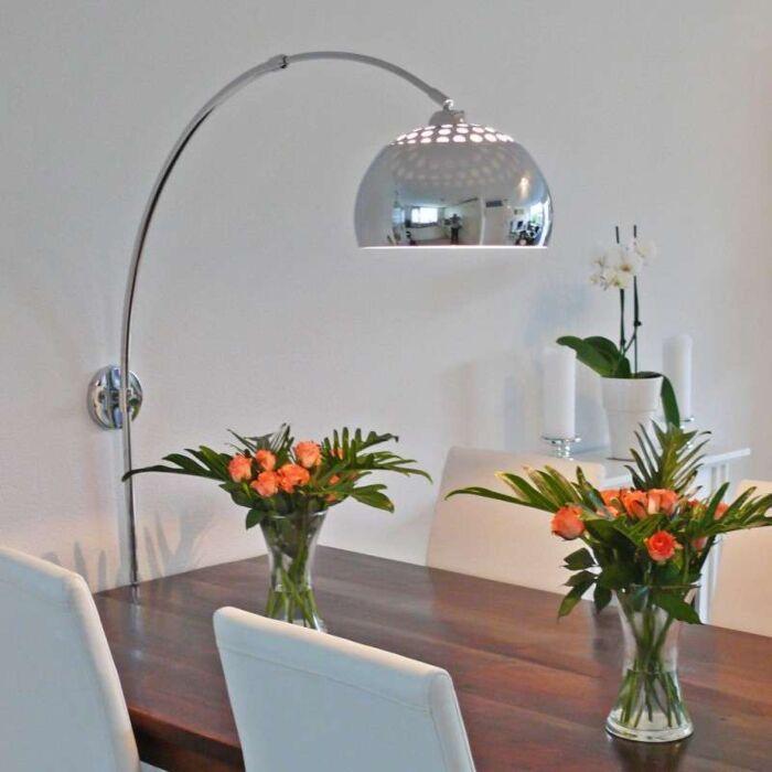 Oblouková-lampa-chrom