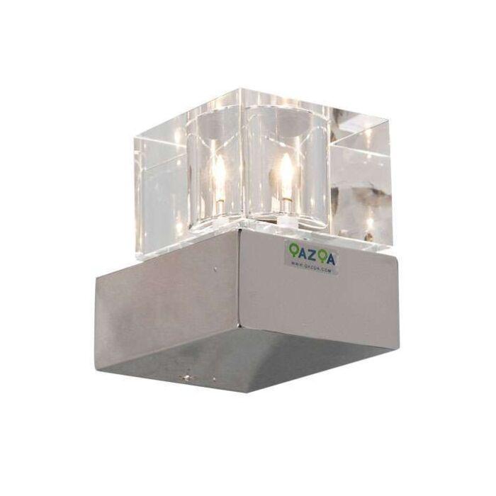 Nástěnná-lampa-kostky-1-chrom