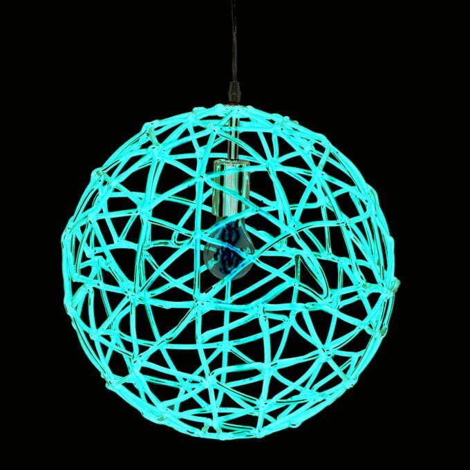 Závěsná-lampa-Birdy-40-červená