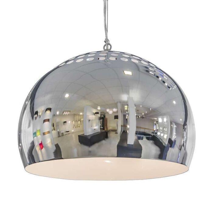 Závěsná-lampa-Fermo-40cm-chrom
