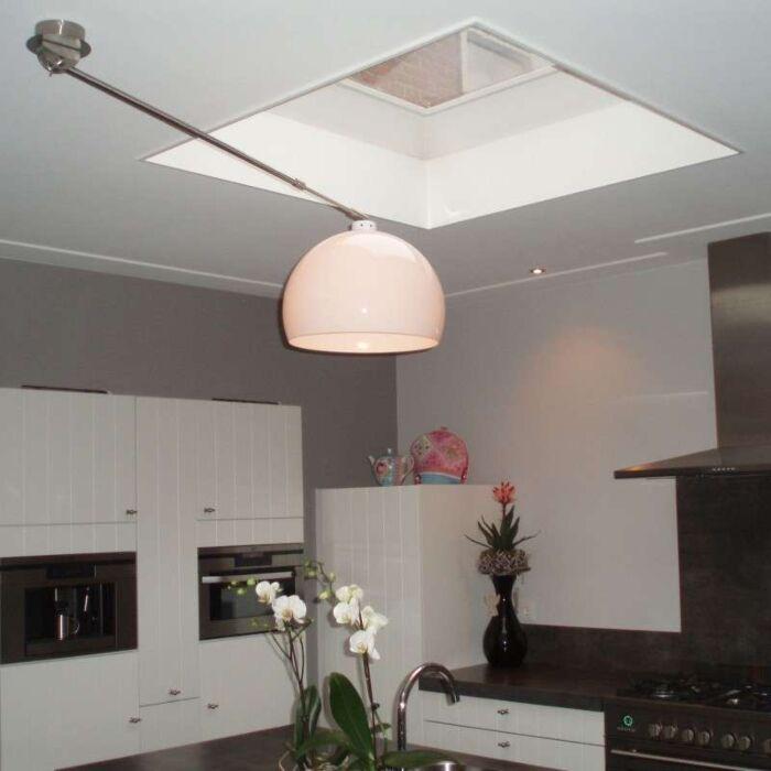 Závěsná-lampa-Decentra-ocel-bílá