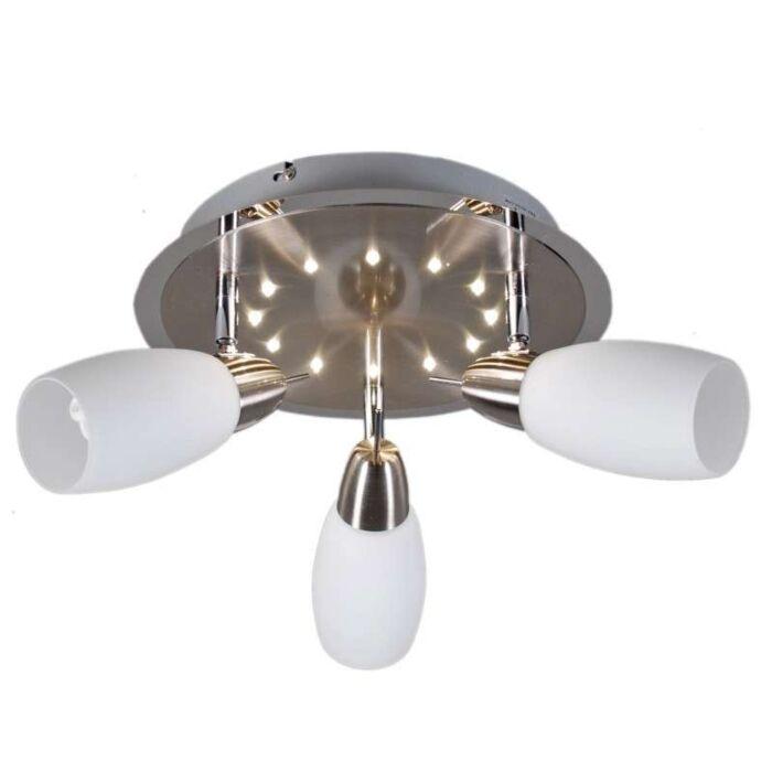 Bodové-stropní-svítidlo-Atom-3-kulaté-LED