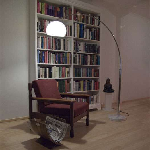 Velká-oblouková-lampa-chrom-Basic