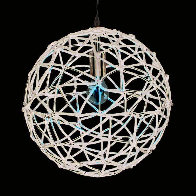Závěsná-lampa-Birdy-40-černá