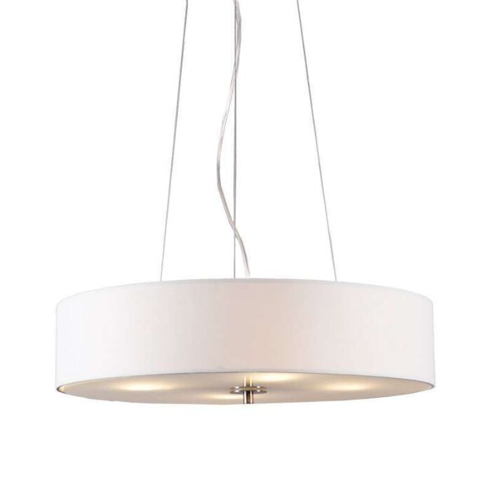 Závěsná-lampa-Drum-50-krátká-krémově-bílá
