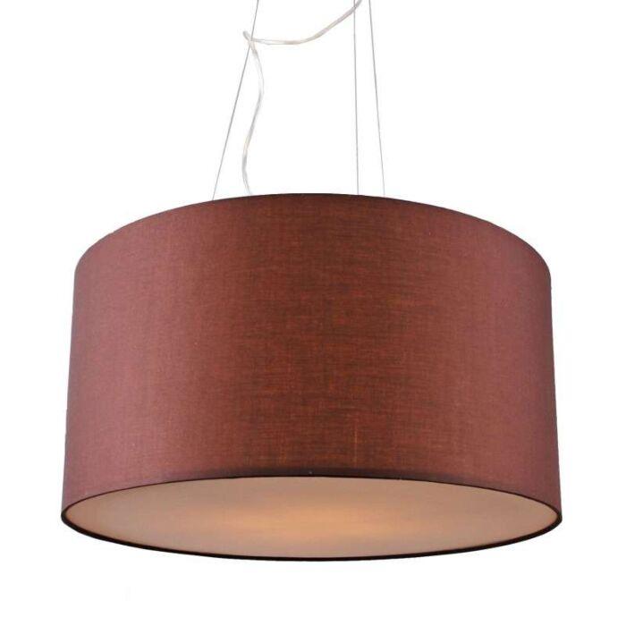 Závěsná-lampa-Drum-60-hnědá