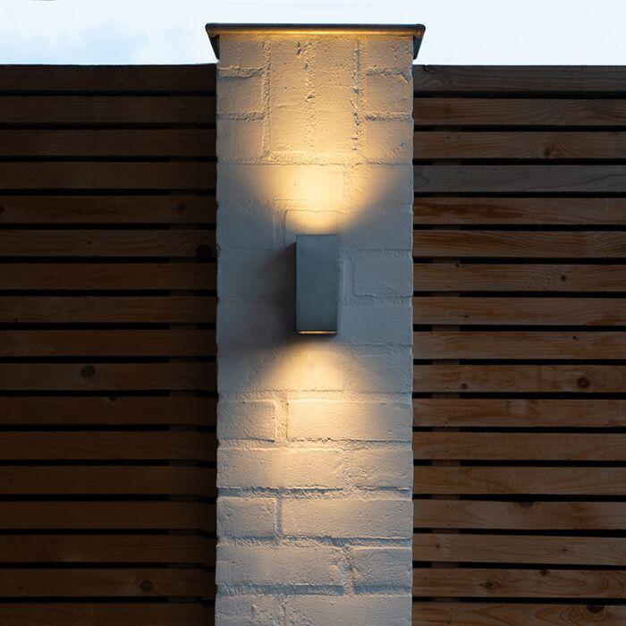 Moderní-nástěnné-svítidlo-hliníkové-IP44---Baleno-II