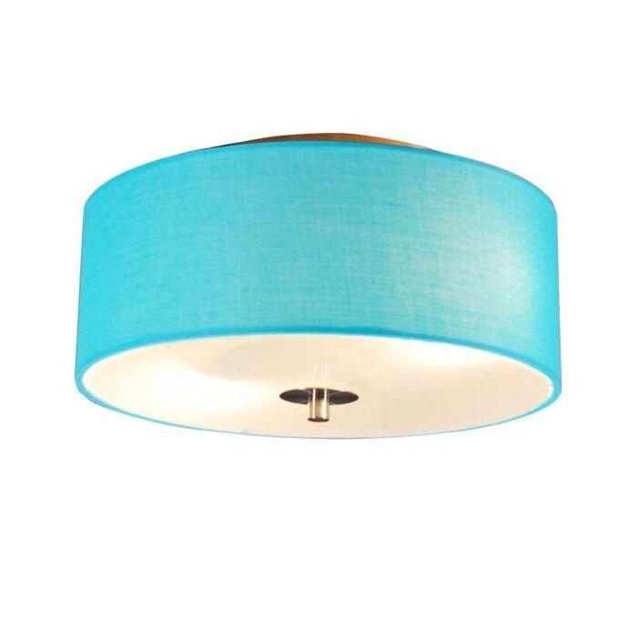 Stropní-lampa-Drum-30-kulatá-aqua