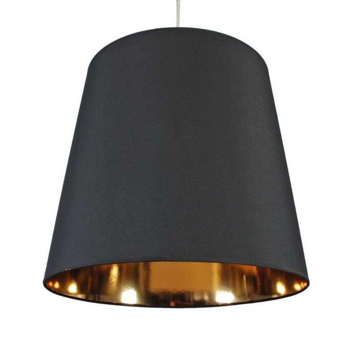Závěsná-lampa-Stín-černé-zlato