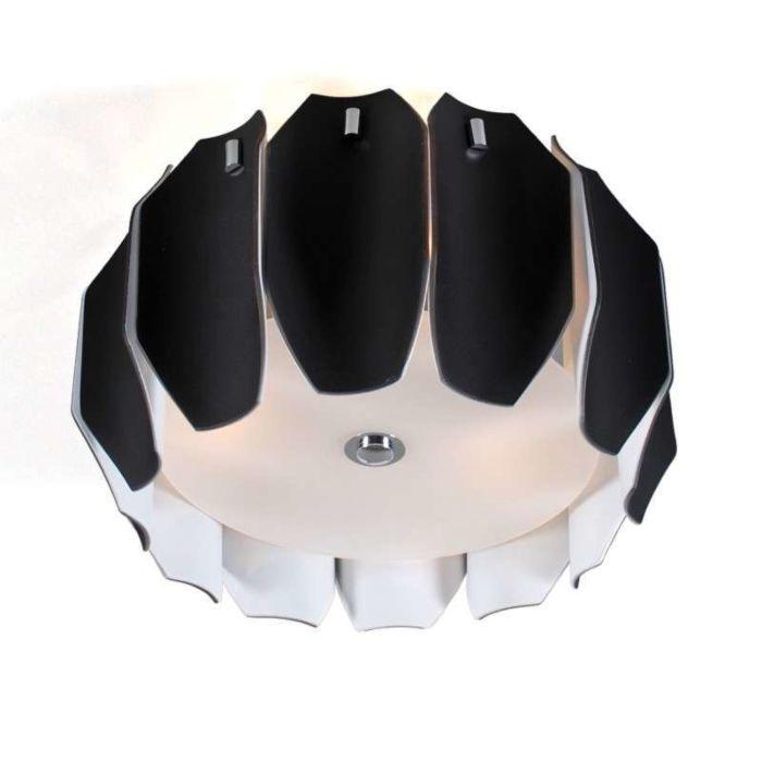 Stropní-svítidlo-Archo-40-chrom---černé