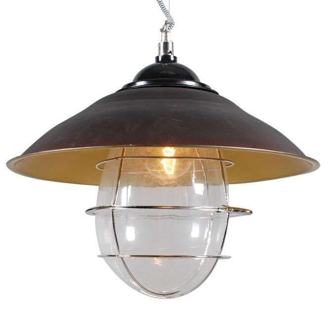 Závěsná-lampa-Skipper-starožitný