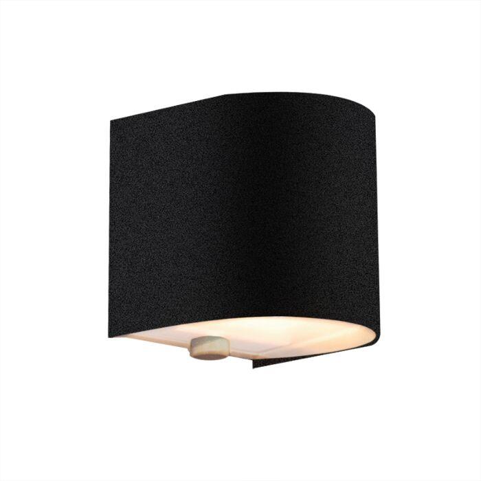 Nástěnná-lampa-Torci-černá