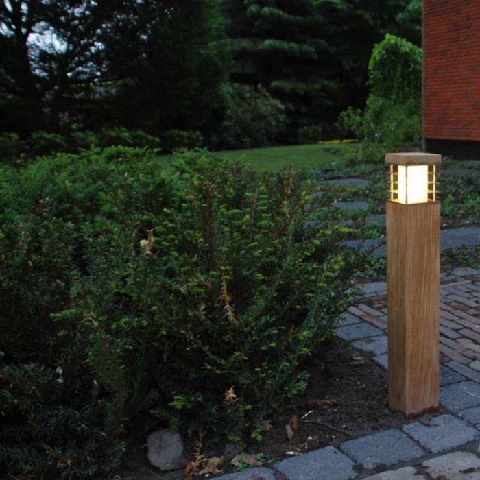 Venkovní-lampa-Colin-Square-Teak