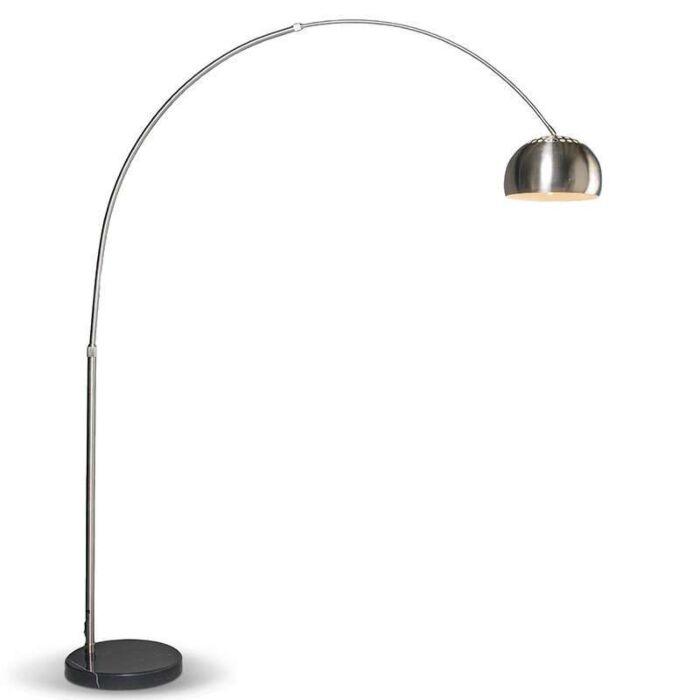 Moderní-oblouková-lampa-z-oceli-nastavitelná---Grande