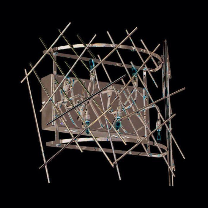 Nástěnná-lampa-Forest-5-chrom