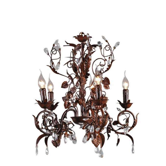 Lustr-Romance-5-light-antique-brown