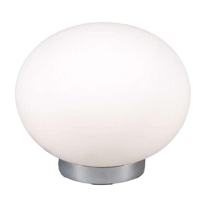 Stolní-lampa-Ball-24-ocel-s-bílým-sklem