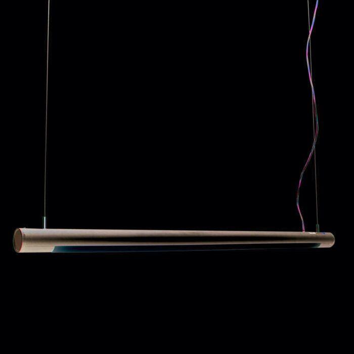 Závěsná-lampa-Tube-O-stříbrná-28W