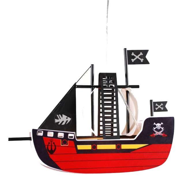 Závěsná-lampa-Kids-Pirate-ship