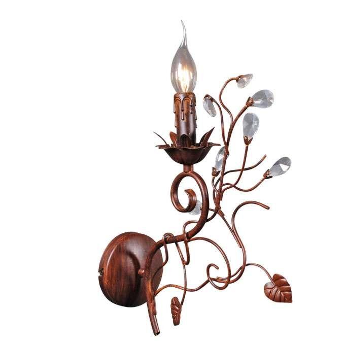 Nástěnná-lampa-Romance-1-starohnědá