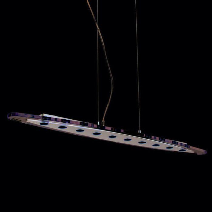 Závěsná-lampa-Credo-oválná-100-LED-čirá