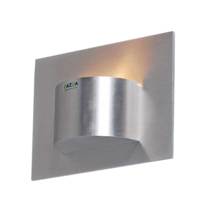 Nástěnné-svítidlo-Oko-1-hliník