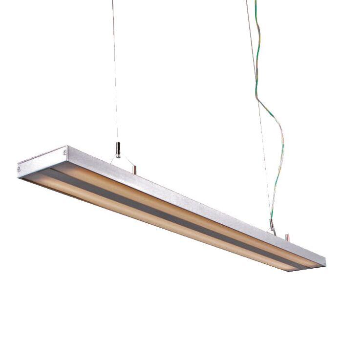 Závěsná-lampa-Tube-S-stříbrná-2-x-28W