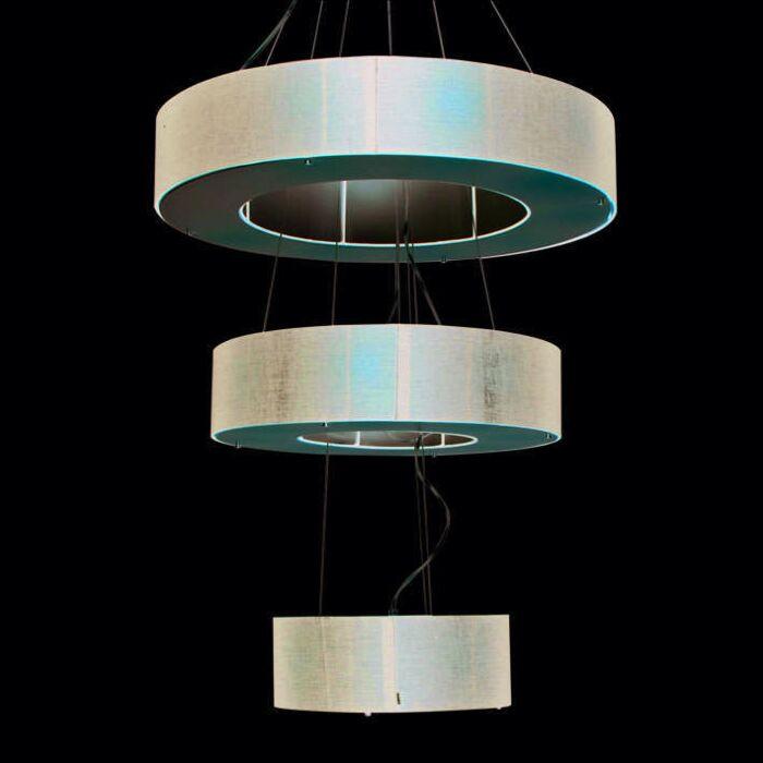 Závěsná-lampa-Buben-Otevřená-3vrstvá-černá